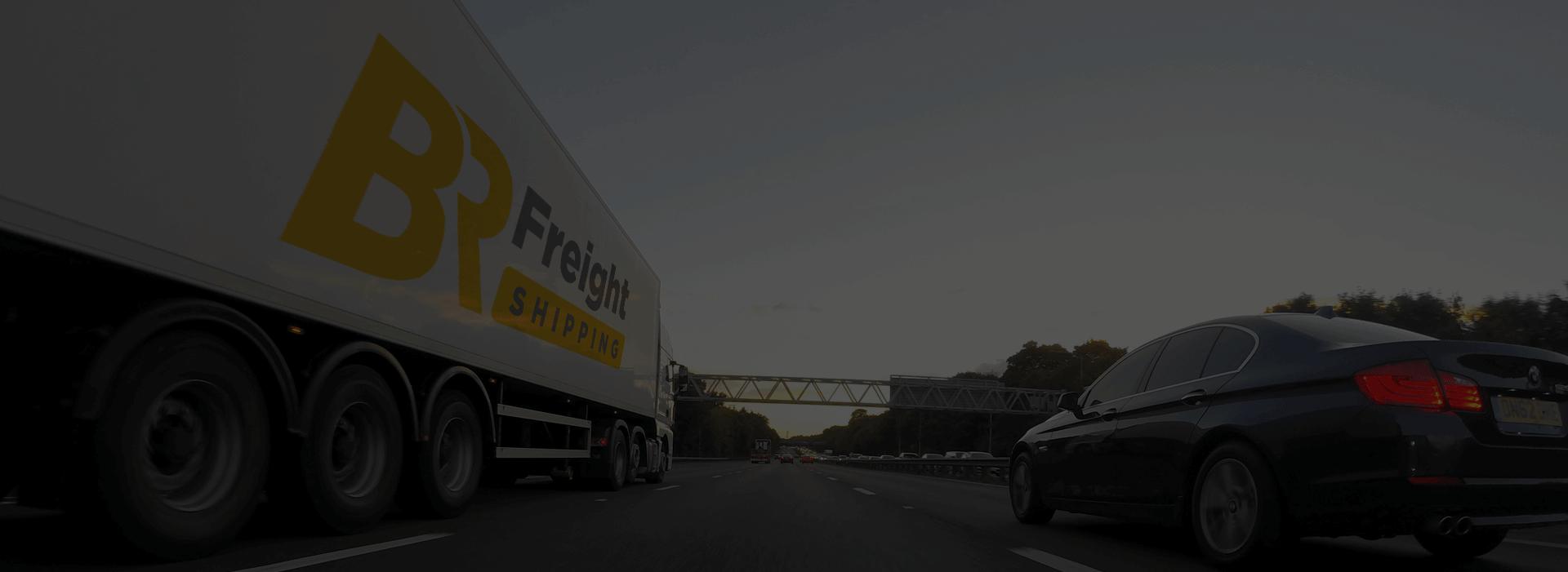 Frete rodoviário BR Freight Shipping